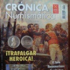 Catálogos y Libros de Monedas: REVISTA CRONICA NUMISMATICA Nº 174 OCTUBRE 2005. Lote 62916222