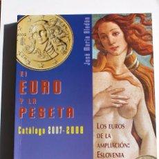 Catálogos y Libros de Monedas: CATÁLOGO DE MONEDAS EURO. Lote 63286520