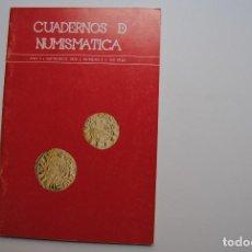 Catálogos y Libros de Monedas: CUADERNOS DE NUMISMATICA, AÑO I. Lote 63900051