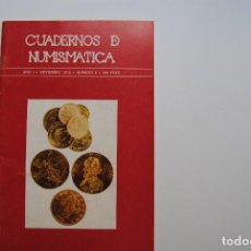 Catálogos y Libros de Monedas: CUADERNOS DE NUMISMATICA, AÑO I. Lote 63900407