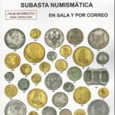 Catálogos y Libros de Monedas: CATALOGO SUBASTA AUREO TAMAÑO FOLIO. Lote 64070111
