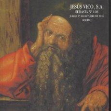 Catálogos y Libros de Monedas: CATALOGO DE SUBASTA JESUS VICO. Lote 64070319