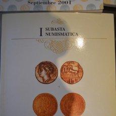 Catálogos y Libros de Monedas: CATALOGO I SUBASTA NUMISMATICA. AFINSA. NOVIEMBRE 1996. Lote 64105447