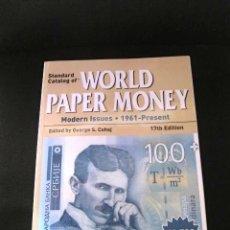 Catálogos y Libros de Monedas: CATALOGO PIK ORIGINAL BILLETES NOTES MUY BUEAN CONSERVACION COLECCION DEL MUNDO . Lote 65479186
