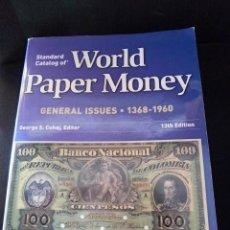 Catálogos y Libros de Monedas: CATALOGO PIK ORIGINAL BILLETES NOTES MUY BUEAN CONSERVACION COLECCION DEL MUNDO . Lote 65480278