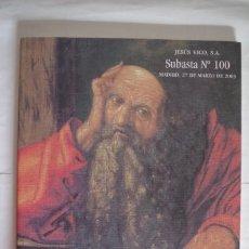 Catalogues et Livres de Monnaies: CATALOGO SUBASTA - JESUS VICO - Nº 100 - 27 DE MARZO DE 2003. Lote 67640897