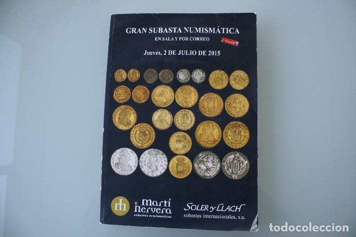 COMPLETO LIBRO CATALOGO GRAN SUBASTA NUMISMATICA – CONOCER VALOR MONEDAS Y BILLETES - VER INDICE (Numismática - Catálogos y Libros)