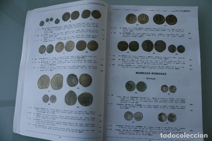 Catálogos y Libros de Monedas: COMPLETO LIBRO CATALOGO GRAN SUBASTA NUMISMATICA – CONOCER VALOR MONEDAS Y BILLETES - VER INDICE - Foto 3 - 72393755