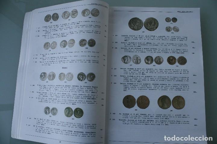 Catálogos y Libros de Monedas: COMPLETO LIBRO CATALOGO GRAN SUBASTA NUMISMATICA – CONOCER VALOR MONEDAS Y BILLETES - VER INDICE - Foto 4 - 72393755