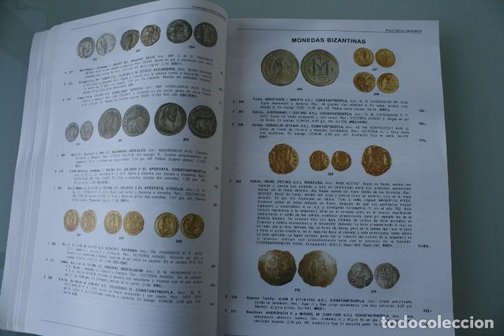 Catálogos y Libros de Monedas: COMPLETO LIBRO CATALOGO GRAN SUBASTA NUMISMATICA – CONOCER VALOR MONEDAS Y BILLETES - VER INDICE - Foto 5 - 72393755