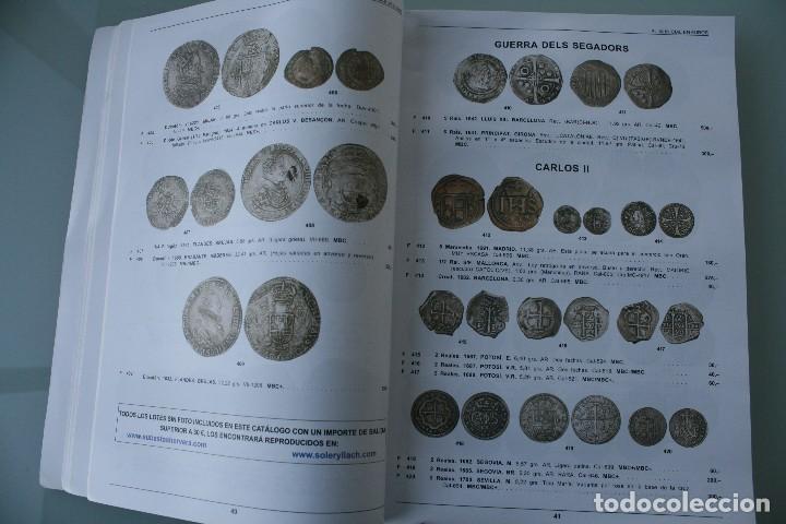 Catálogos y Libros de Monedas: COMPLETO LIBRO CATALOGO GRAN SUBASTA NUMISMATICA – CONOCER VALOR MONEDAS Y BILLETES - VER INDICE - Foto 6 - 72393755
