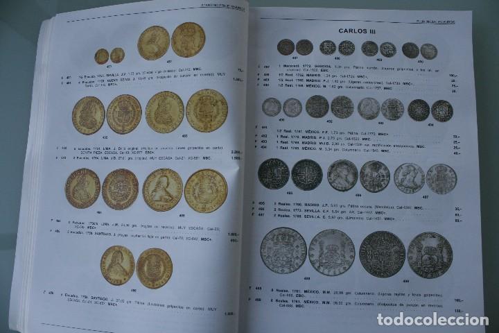 Catálogos y Libros de Monedas: COMPLETO LIBRO CATALOGO GRAN SUBASTA NUMISMATICA – CONOCER VALOR MONEDAS Y BILLETES - VER INDICE - Foto 7 - 72393755
