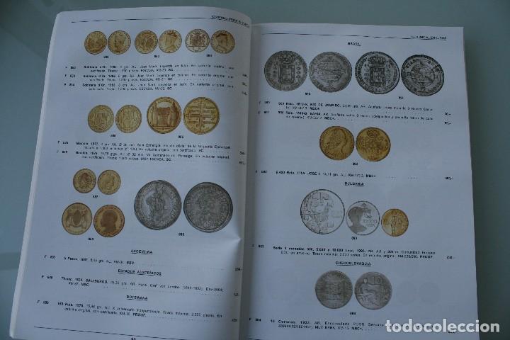 Catálogos y Libros de Monedas: COMPLETO LIBRO CATALOGO GRAN SUBASTA NUMISMATICA – CONOCER VALOR MONEDAS Y BILLETES - VER INDICE - Foto 8 - 72393755