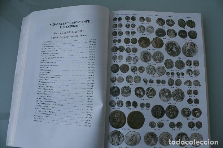 Catálogos y Libros de Monedas: COMPLETO LIBRO CATALOGO GRAN SUBASTA NUMISMATICA – CONOCER VALOR MONEDAS Y BILLETES - VER INDICE - Foto 11 - 72393755
