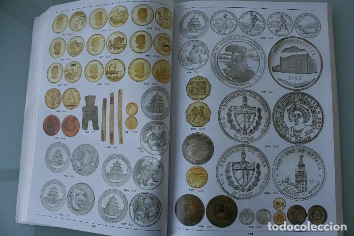 Catálogos y Libros de Monedas: COMPLETO LIBRO CATALOGO GRAN SUBASTA NUMISMATICA – CONOCER VALOR MONEDAS Y BILLETES - VER INDICE - Foto 13 - 72393755