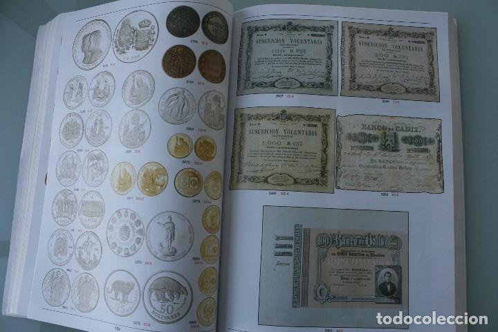Catálogos y Libros de Monedas: COMPLETO LIBRO CATALOGO GRAN SUBASTA NUMISMATICA – CONOCER VALOR MONEDAS Y BILLETES - VER INDICE - Foto 14 - 72393755