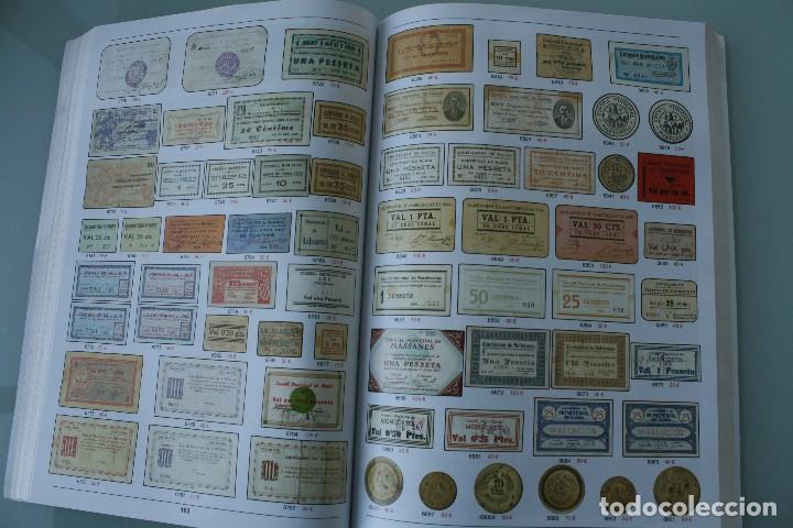 Catálogos y Libros de Monedas: COMPLETO LIBRO CATALOGO GRAN SUBASTA NUMISMATICA – CONOCER VALOR MONEDAS Y BILLETES - VER INDICE - Foto 16 - 72393755