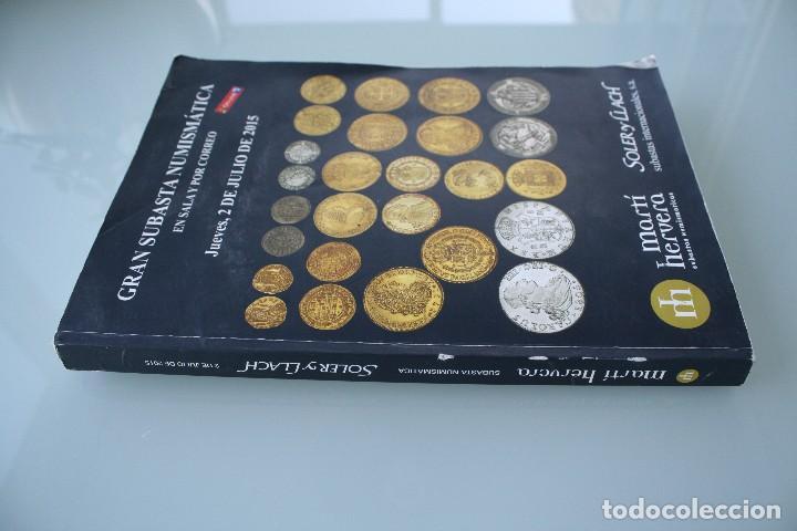 Catálogos y Libros de Monedas: COMPLETO LIBRO CATALOGO GRAN SUBASTA NUMISMATICA – CONOCER VALOR MONEDAS Y BILLETES - VER INDICE - Foto 20 - 72393755