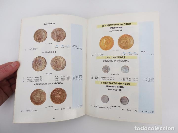 Catálogos y Libros de Monedas: MONEDAS Y BILLETES ESPAÑOLES. PRECIOS DE MERCADO 1984 1985. CATÁLOGO GUÍA (J.M. Aledón) Ed Aledón - Foto 4 - 73687087