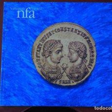 Catálogos y Libros de Monedas: NUMISMATIC FINE ARTS. CATÁLOGO DE COLECCIONISTA. AUCTION XXX. ANCIENT GREEK AND ROMAN COINS. SUBASTA. Lote 74231703