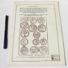Catálogos y Libros de Monedas: VERDADERA DECLARACIÓN DE LAS MONEDAS ANTIGUAS QUE HAN HALLADO EN UN EDIFICIO ANTIGUO. FACSIMIL 1624. Lote 74931531