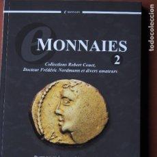 Catálogos y Libros de Monedas: CATÁLOGO MONNAIES 2 CGB 31/3/2015 MONEDA GRIEGA, ROMANA, BIZANTINA, GALA, MEROVINCIA, MODERNA. Lote 75034543