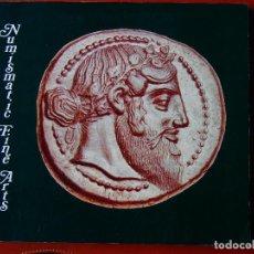 Catálogos y Libros de Monedas: CATÁLOGO DE COLECCIONISTA : SUBASTA NUMISMATIC FINE ARTS, AUCTION X 17-09-1981 . Lote 75318423