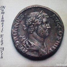 Catálogos y Libros de Monedas: CATÁLOGO DE COLECCIONISTA : SUBASTA NUMISMATIC FINE ARTS, AUCTION XII 23/3/1983 ANCIENT COINS. Lote 75492215