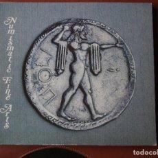 Catálogos y Libros de Monedas: CATÁLOGO DE COLECCIONISTA : SUBASTA NUMISMATIC FINE ARTS, AUCTION V 23/2/1978 ANCIENT COINS. Lote 75492979