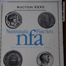 Catálogos y Libros de Monedas: NUMISMATIC FINE ARTS, AUCTION XXXIII, SEPTEMBER 1993 CATÁLOGO NUMISMATICA. Lote 75501763