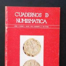 Catálogos y Libros de Monedas: A440.- CUADERNOS DE NUMISMATICA.- NUMINTER.- AÑO I - JUNIO Y JULIO 1978 - NUMERO 2. Lote 75517495