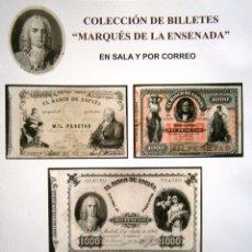 Catálogos y Libros de Monedas: CATALOGO DE SUBASTA AUREO & CALICO FEBRERO 2015 COLECCION DE BILLETES MARQUES DE LA ENSENADA. Lote 77942521