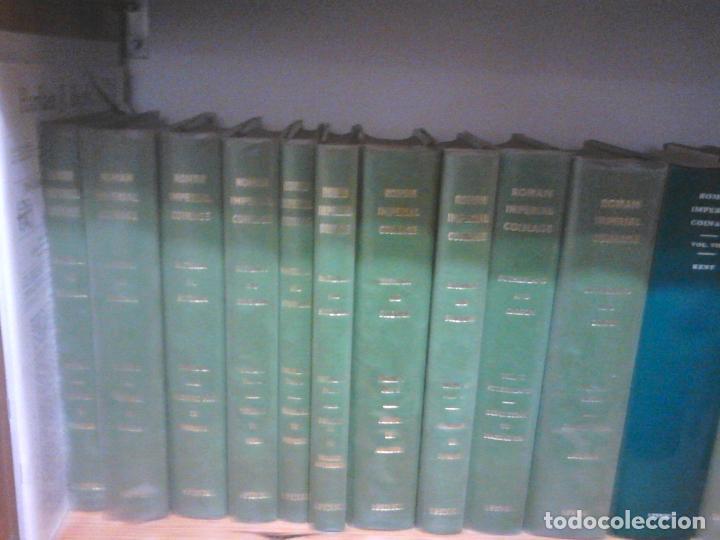 Catálogos y Libros de Monedas: TRECE TOMOS OBRA MAESTRA DE LA MONEDA IMPERIAL ROMANA ROMAN IMPERIAL COINAGE - Foto 4 - 23076870