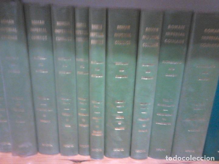 Catálogos y Libros de Monedas: TRECE TOMOS OBRA MAESTRA DE LA MONEDA IMPERIAL ROMANA ROMAN IMPERIAL COINAGE - Foto 5 - 23076870