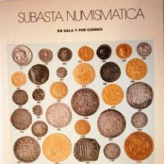 Catálogos y Libros de Monedas: CATALOGO SUBASTA AUREO OCTUBRE 2001. Lote 81047544
