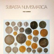 Catálogos y Libros de Monedas: CATALOGO SUBASTA AUREO DICIENBRE 2001. Lote 81047552