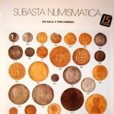 Catálogos y Libros de Monedas: CATALOGO SUBASTA AUREO ABRIL 2004. Lote 81047584