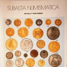 Catálogos y Libros de Monedas: CATALOGO SUBASTA AUREO ABRIL 2005. Lote 81047612