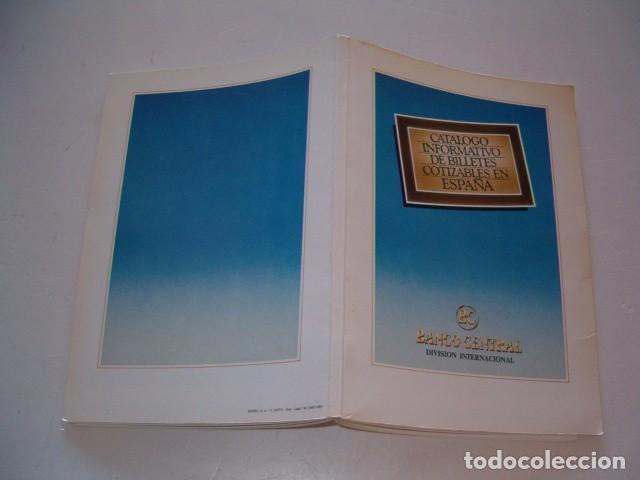 CATÁLOGO INFORMATIVO DE BILLETES COTIZABLES EN ESPAÑA. RMT79595. (Numismática - Catálogos y Libros)