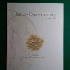 Catálogos y Libros de Monedas: CATALOGO SUBASTA EXTRAORDINARIA COLECCION J.M.P MARZO 2014 LAVIN Y VICO. Lote 87993116