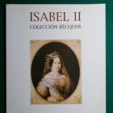 Catálogos y Libros de Monedas: CATALOGO MONEDA SUBASTA AUREO COLECCION ISABEL II BECQUER. Lote 88086328
