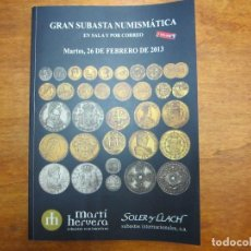 Catálogos y Libros de Monedas: CATALOGO CON TODO TIPO DE MONEDAS, MEDALLAS, BILLETES, CONDECORACIONES, ETC. Lote 90369972