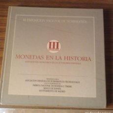 Catálogos y Libros de Monedas: .OFERTA MONEDAS EN LA HISTORIA, ANTECEDENTES MONETARIOS EN LAS AUTONOMIA, LIBRO EDITADO POR FNMT.. Lote 90761610