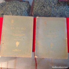 Catálogos y Libros de Monedas: EL DURO, DE ADOLFO HERRERA, REAL ACADEMIA DE LA HISTORIA, 1914, DOS TOMOS, COMPLETO, BUEN EJEMPLAR. Lote 94365318
