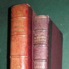 Catálogos y Libros de Monedas: VIVES Y ESCUDERO, ANTONIO: LA MONEDA HISPANICA. TEXTO (4 TOMOS EN 1 VOL.) Y ATLAS. 1924. Lote 95397403