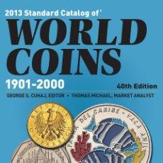Catálogos y Libros de Monedas: CATALOG OF WORLD COINS 1901-2000 · CATÁLOGO DE MONEDAS DEL MUNDO. Lote 155361794