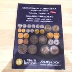 Catálogos y Libros de Monedas: LIBRO SUBASTA NUMISMATICA SOLER Y LLACH - 28 DE FEBRERO DE 2012 - 407 PÁGINAS. Lote 95843863