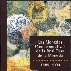 Catálogos y Libros de Monedas: LAS MONEDAS CONMEMORATIVAS DE LA REAL CASA DE LA MONEDA. Lote 95864011
