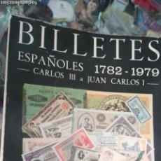 Catálogos y Libros de Monedas: BILLETES ESPAÑOLES 1782-1979 CARLOS CASTAN. Lote 95874692