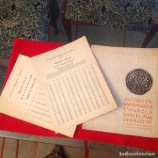 Catálogos y Libros de Monedas: CATALOGO DE LA SUBASTA DE DÍC DE 1960, REDACTADO POR CALICO, ASOC. NUMISMATICA ESPAÑOLA, ANE,. Lote 233118335